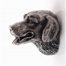 PA001 Novelty Handmade Solid Pewter  Finely Sculpted Statuary Pull and Knob of Animal Theme.
