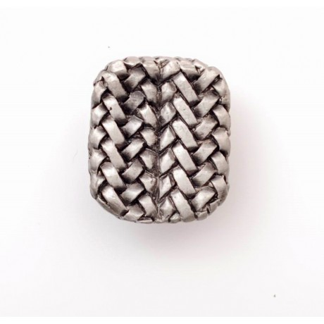 PX070 Novelty Handmade Solid Pewter Finely Sculpted Statuary Pull And Knob Of Hand Knitting Theme.