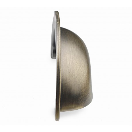 """2-1/2 """" inch (64mm) P88960/64ABB Antique Bronze Brushed post-modern design style Kitchen Cabinet Pull Handle Closet Wood Door Pull handle Cabinet Door Decorative Cabinet Hardware Home Decor Furniture Pull Drawer Handle Cupboard Pull"""