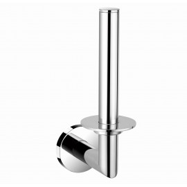 """B13690/CP 7"""" inch (18cm) Wall Mount Bathroom Chrome Tissue Roll Holder Hanger Toilet paper holder, Bathroom Kitchen Paper Towel Dispenser , ALL SOLID BRASS MADE Bright Polished Chrome Finish. High Quality Bath Hardware Home Decor Decorative"""
