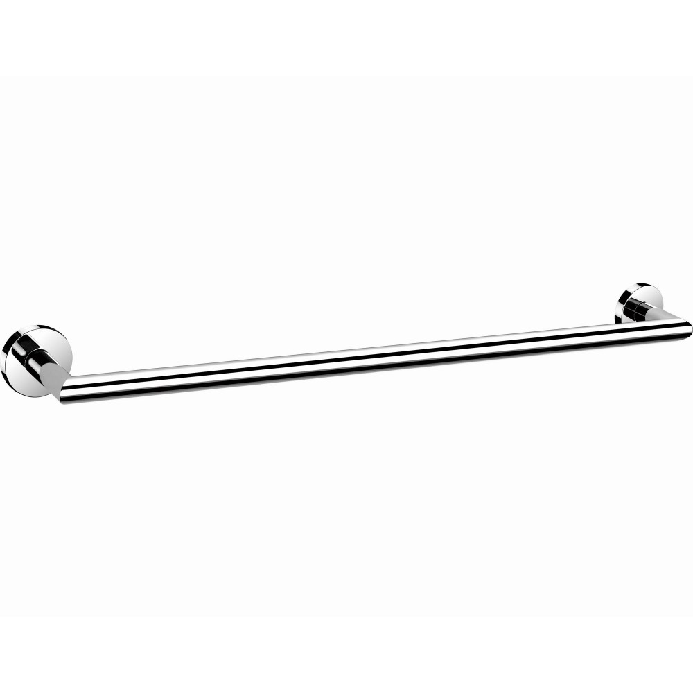 "B13618/45CP 18"" inch (45cm) & B13624/60CP 24"" inch (60mm) Bathroom Wall Mount Chrome Towel Bar Towel Rail Holder, ALL SOLID BRASS MADE Bright Polished Chrome Finish."