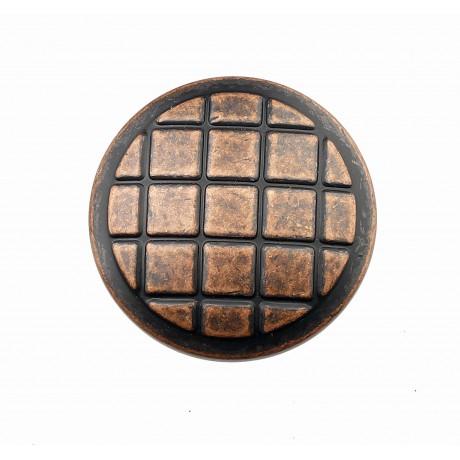 "N402/29AC 1-1/4"" inch (29mm) Beautiful Vintage Antique Copper Kitchen Cabinet Knob Closet Wood Door Knob handle Cabinet Door Decorative Hardware Home Decor Furniture Pull Drawer Knob Cupboard Pull"