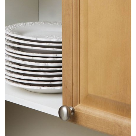 "1-1/4""Inch(30mm) N48304/30SN Slightly Brushed Satin Nickel Style Solid Kitchen Cabinet Knob Pull Closet Wood Door Knob Cabinet Door Decoration Hardware Home Decor Furniture Handle Knob Drawer Knob Cupboard Knob"