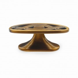 """N404/BAB 1"""" inch (25mm) Beautiful Brushed Antique English Brass finish Kitchen Cabinet Pull Handle Closet Wood Door Pull handle Cabinet Door Decorative Hardware Home Decor Cabinet Furniture Pull Drawer Handle Cupboard Pull"""