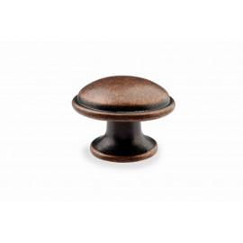 "N88421/35AC 1-2/5"" inch (35mm) Beautiful Vintage Antique Copper Kitchen Cabinet Knob Closet Wood Door Knob handle Cabinet Door Decorative Hardware Home Decor Furniture Pull Drawer Knob Cupboard Pull"