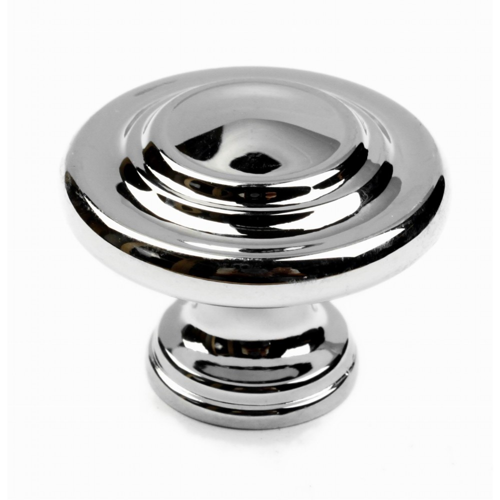 "N88555/32CP 1-1/4 "" inch (32mm) CP Finish Chrome Plated Shining Bright Style Kitchen Cabinet Knob Handle Closet Wood Door Knob Cabinet Door Decoration Hardware Home Decor Furniture Handle Knob Drawer Knob Cupboard Knob"
