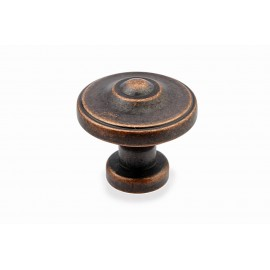 "N88622/33AC 1-3/8"" inch (33mm) Beautiful Vintage Antique Copper Kitchen Cabinet Knob Closet Wood Door Knob handle Cabinet Door Decorative Hardware Home Decor Furniture Pull Drawer Knob Cupboard Pull"