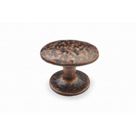 "N88765/42AC 1-3/5"" inch (42mm) Beautiful Vintage Antique Copper Kitchen Cabinet Knob Closet Wood Door Knob handle Cabinet Door Decorative Hardware Home Decor Furniture Pull Drawer Knob Cupboard Pull"