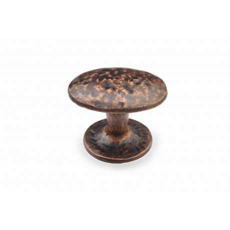 "N88765/42AC 1-3/5"" inch (42mm) Beautiful Vintage Antique Copper Kitchen Cabinet Knob Closet Wood Door Knob handle Cabinet Door Decorative Hardware Home Decor Furniture Pull Drawer Knob Cupboard Pull"