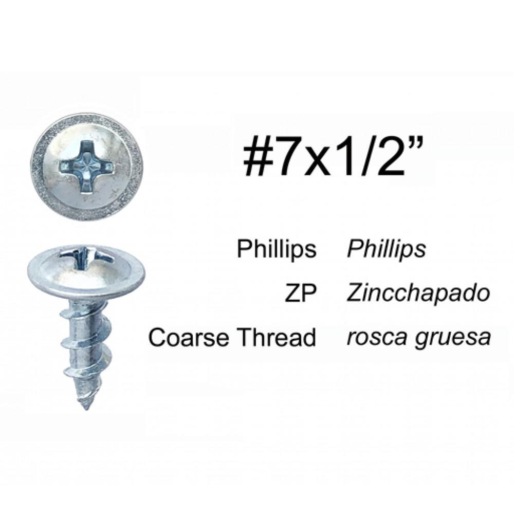 SB712 MODIFIED TRUSS HEAD SCREW PHILLIPS DR COARSE THREAD