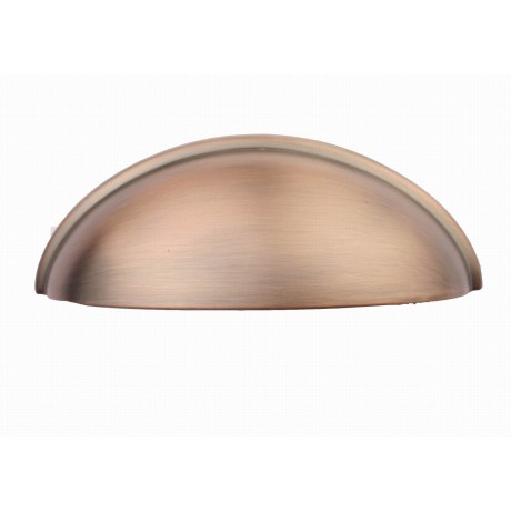 """3 """" inch (76mm) P9002/76ACB Antique Copper Brushed shell handle post-modern design style Kitchen Cabinet Pull Handle Closet Wood Door Pull handle Cabinet Door Decorative Cabinet Hardware Home Decor Furniture Pull Drawer Handle Cupboard Pull"""