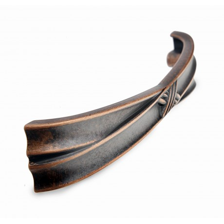 P405.AC Beautiful Vintage Antique Copper Kitchen Cabinet Pull Handle Closet Wood Door Pull handle Cabinet Door Decorative Hardware Home Decor Cabinet Furniture Pull Drawer Handle Cupboard Pull