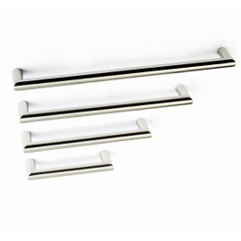 "P58356.SS Stainless Steel Euro Style Round Bar Pull Handle Bar Dia: 1/2""(12mm)"