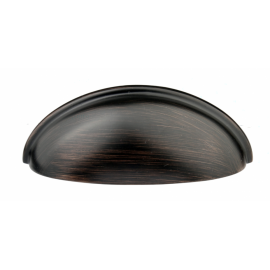 "3"" inch (76mm) P9002.76ORB Slightly Brushed ORB Classic Style Kitchen Cabinet Pull Handle"