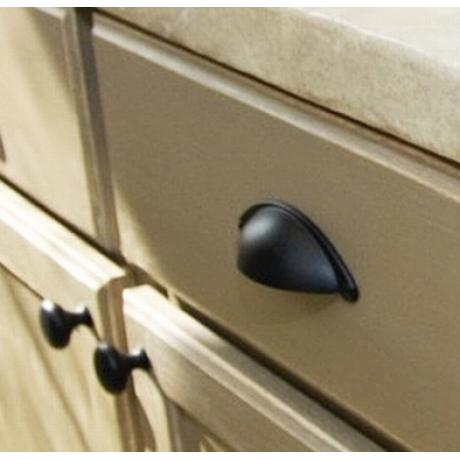 "N88304/30ORB 1-1/4"" inch (30mm) Beautiful Vintage Oil Rubbed Bronze Finish ORB Kitchen Cabinet Knob Closet Wood Door Knob handle Cabinet Door Decorative Hardware Home Decor Furniture Pull Drawer Knob Cupboard Pull"